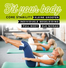 Core Stability - Fit Your Body MAART 2020